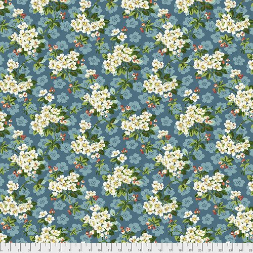 Spring Blossom - Mint - Neddy's Meadow - Snow Leopard Designs