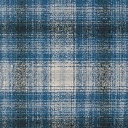 MAMMOTH FLANNEL. BLUE SRKF-15595-4