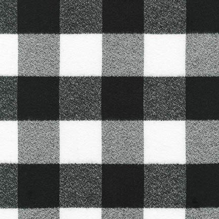 MAMMOTH FLANNEL. WHITE & BLACK SRKF-16943-1