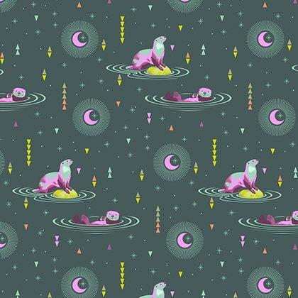Spirit Animal - Otter and Chill - Luna - Tula Pink