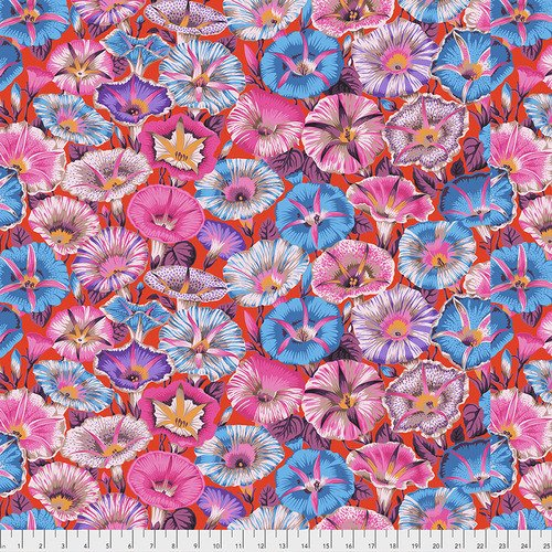 Variegated Morning Glory - Red - Kaffe Fassett Collective
