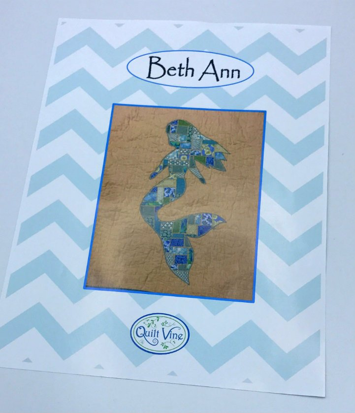 Beth Ann the Mermaid Pattern