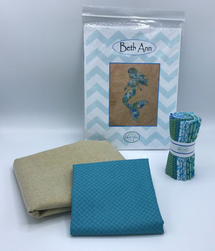 Beth Ann the Mermaid Kit