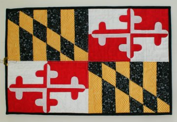 Maryland Flag Wall Hanging Kit