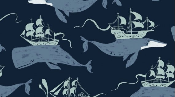 Aweigh North WHALE SHIPS (NAVY)