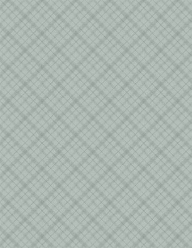 A Country Weekend - Diagonal Plaid - Gray/Green - 1409-86495-777