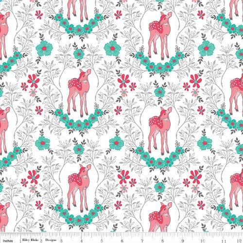 Flora & Fawn - C6732-WHITE