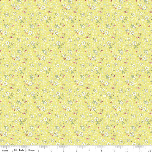 Serendipity Fleuri - C7264-YELLOW