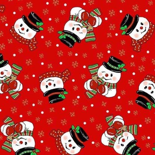 Corn Cob Snowmen - Red - CM9643-REDX-D