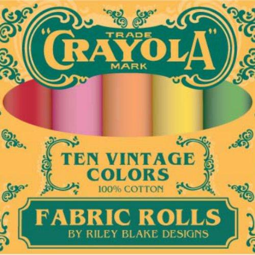 Confetti Cottons Vintage Crayola Box
