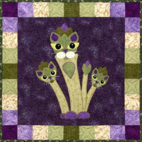 Garden Patch Cats - Aspurragus