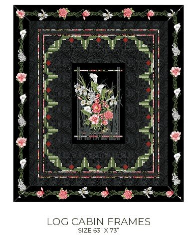 Log Cabin Frames - AQP-278