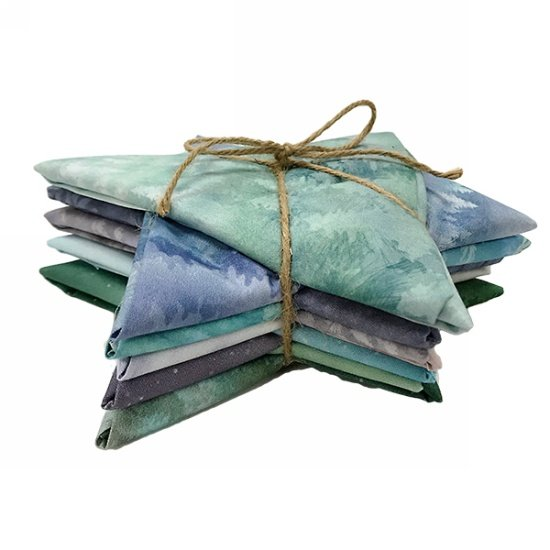 McKenna Ryan Painted Forest Fat Quarter Bundle Jewel - MRPFFQ2-162