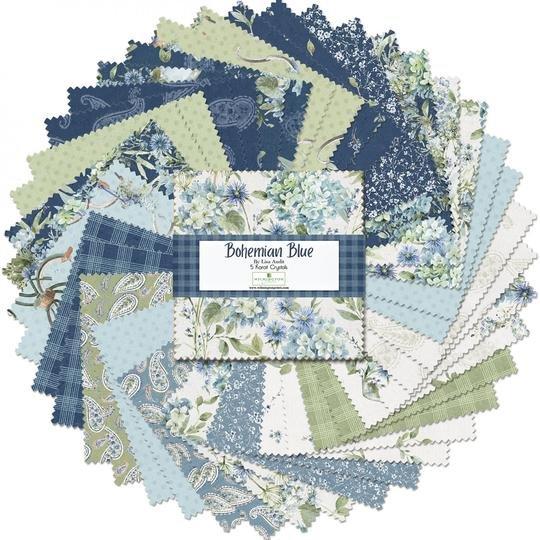Bohemian Blue - 5 Karat Crystals - 508-677-508