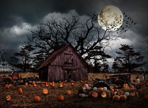 Haunted Halloween - Pumpkin