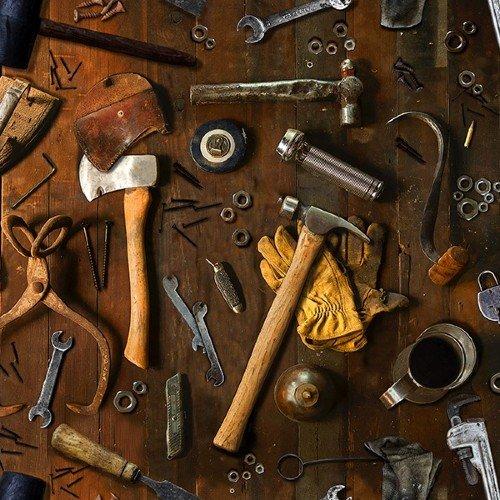 Sun Up to Sundown - Tools - T4890-342-Woody