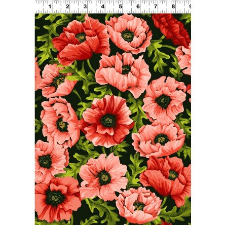 Poppy Poetry - Coral - Y2658-39