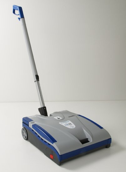 LINDHAUS ELECTRIC BARE FLOOR AND CARPET VACUUM SWEEPER WITH LITHIUM ION BATERY