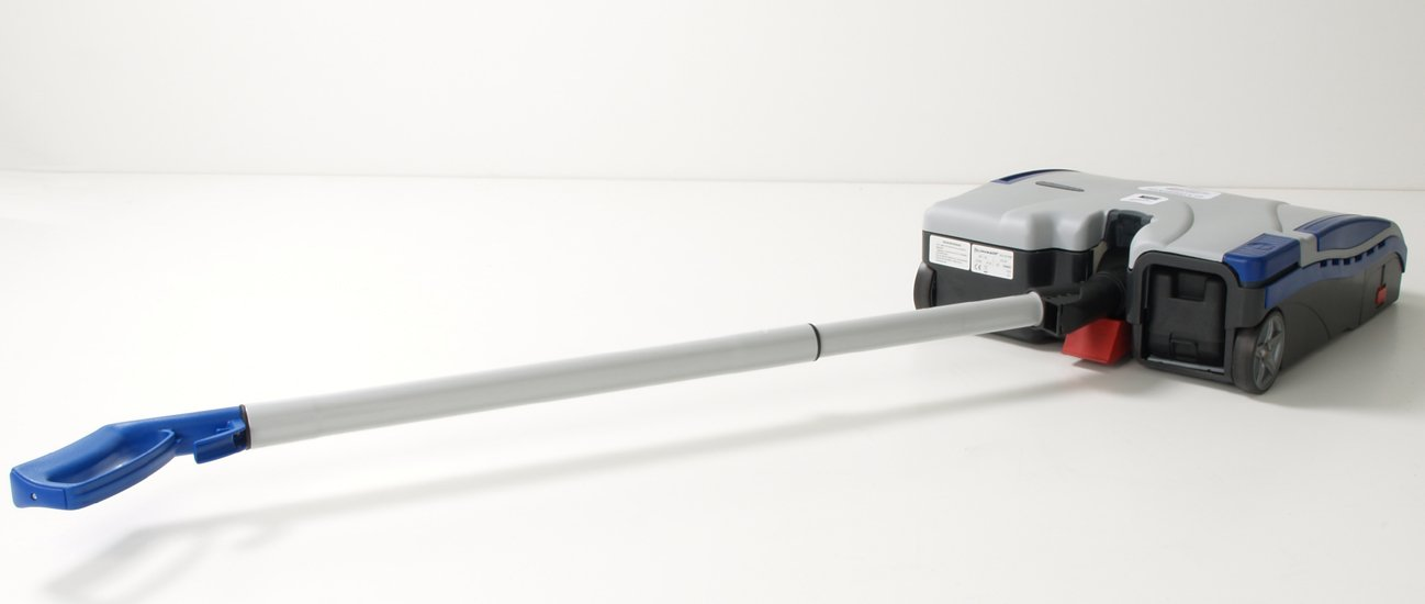 LINDHAUS ELECTRIC CORDED TWIN FORCE BARE FLOOR AND CARPET VACUUM SWEEPER