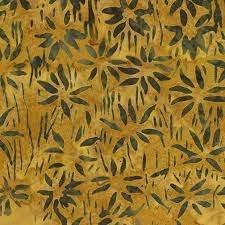 Batik Bali Bamboo Gold