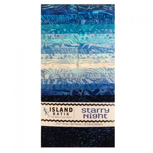 Batik Starry Night Strip Pack 2.5x42pieces