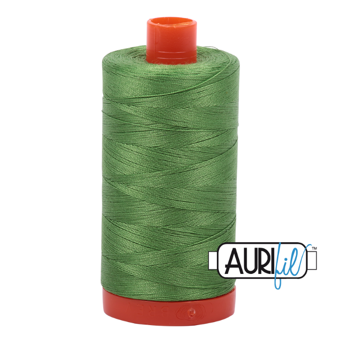 Aurifil #1114 (Grass Green)<br>50 Wt. - 1422 Yds.