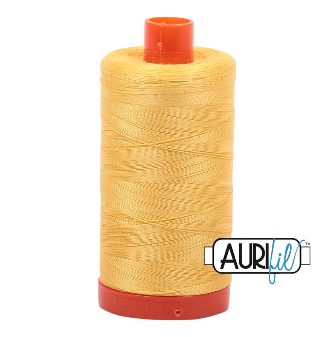 Aurifil #1135 (Pale Yellow)<br>50 Wt. - 1422 Yds.