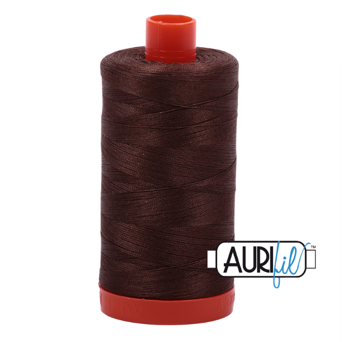 Aurifil #1285 (Medium Bark)<br>50 Wt. - 1422 Yds.