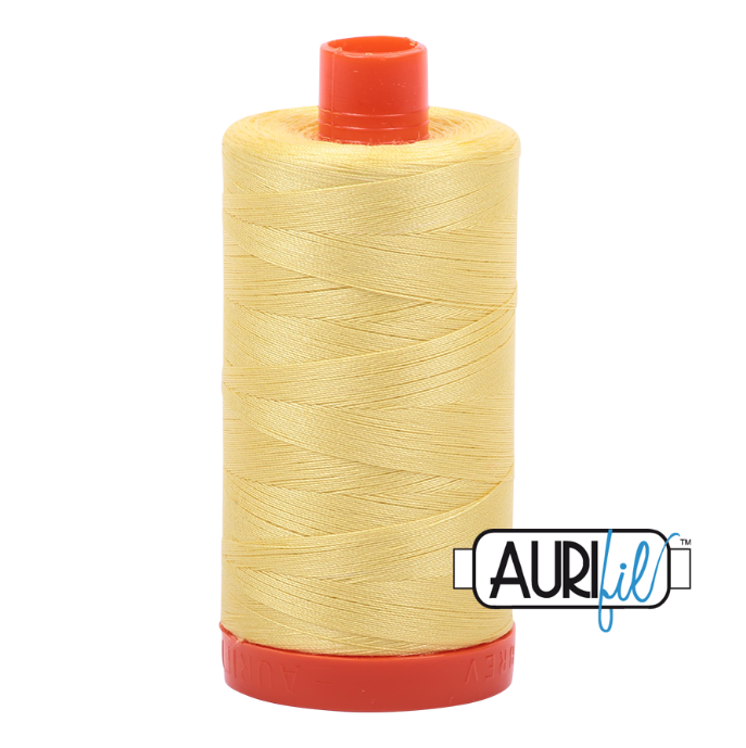 Aurifil #2115 (Lemon)<br>50 Wt. - 1422 Yds.