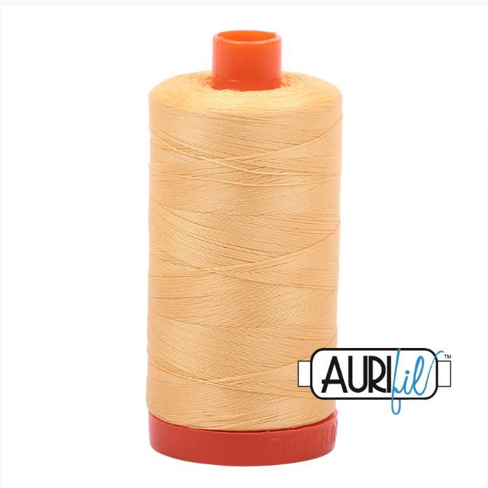 Aurifil #2130 (Medium Butter)<br>50 Wt. - 1422 Yds.