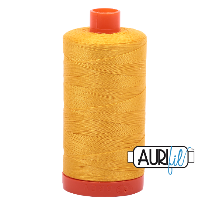 Aurifil #2135 (Yellow)<br>50 Wt. - 1422 Yds.