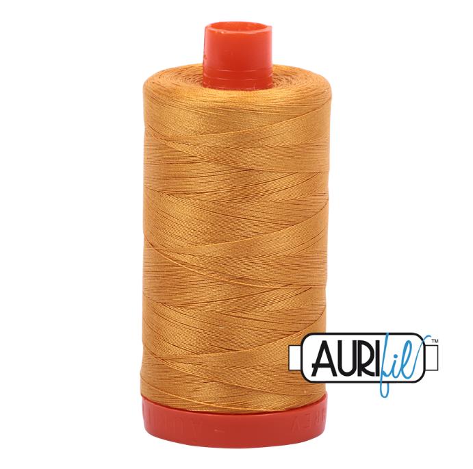 Aurifil #2140 (Orange Mustard)<br>50 Wt. - 1422 Yds.