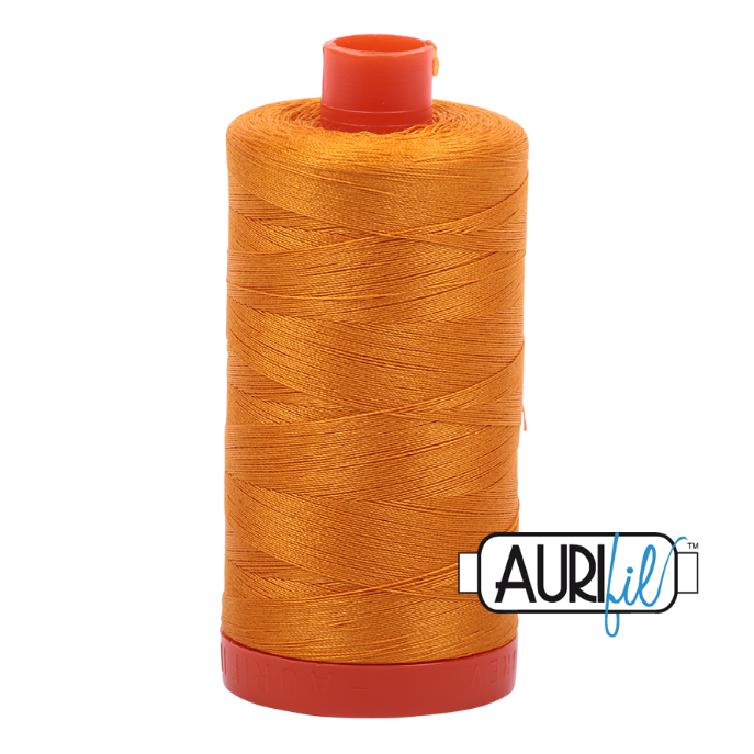 Aurifil #2145 (Yellow Orange)<br>50 Wt. - 1422 Yds.