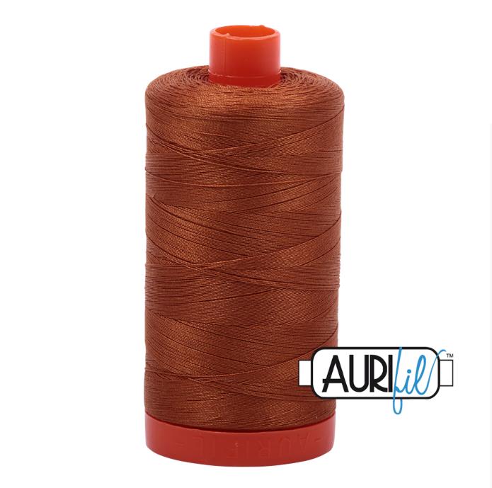Aurifil #2155 (Cinnamon)<br>50 Wt. - 1422 Yds.