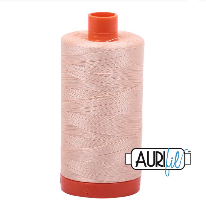 Aurifil #2205 (Apricot)<br>50 Wt. - 1422 Yds.