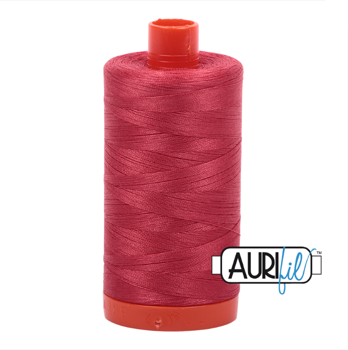 Aurifil #2230 (Red Peony)<br>50 Wt. - 1422 Yds.