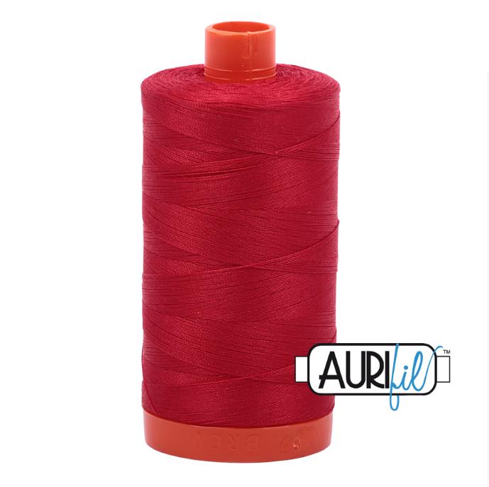Aurifil #2250 (Red)<br>50 Wt. - 1422 Yds.