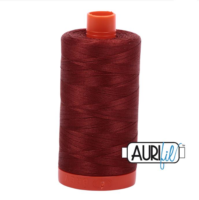 Aurifil #2355 (Rust)<br>50 Wt. - 1422 Yds.