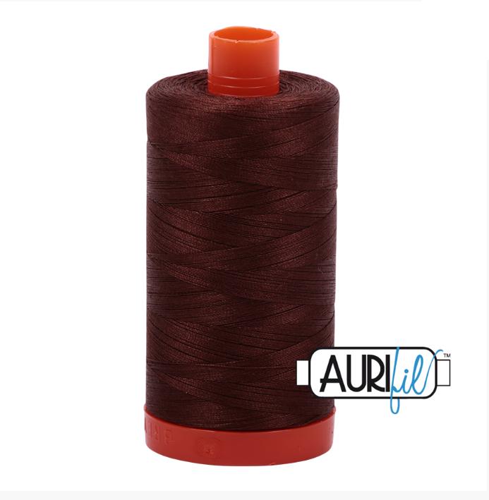 Aurifil #2360 (Chocolate)<br>50 Wt. - 1422 Yds.