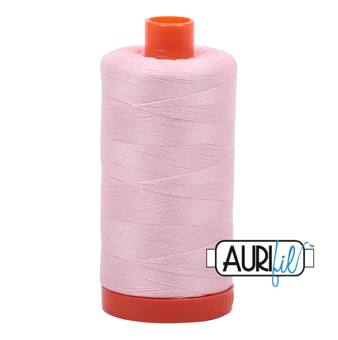 Aurifil #2410 (Pale Pink)<br>50 Wt. - 1422 Yds.
