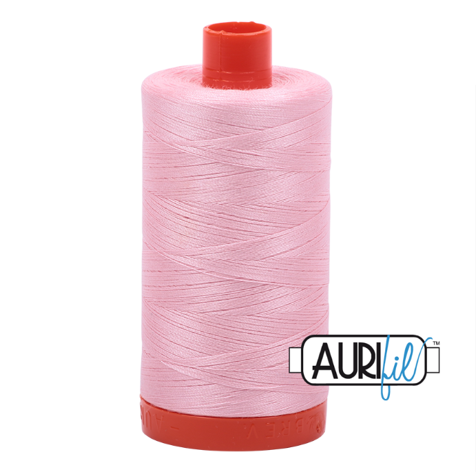 Aurifil #2423 (Baby Pink)<br>50 Wt. - 1422 Yds.