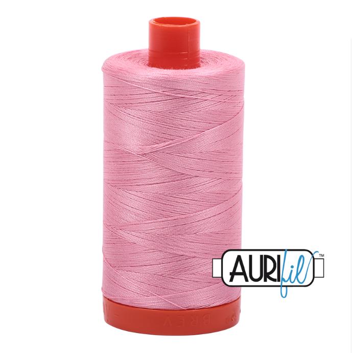 Aurifil #2425 (Bright Pink)<br>50 Wt. - 1422 Yds.