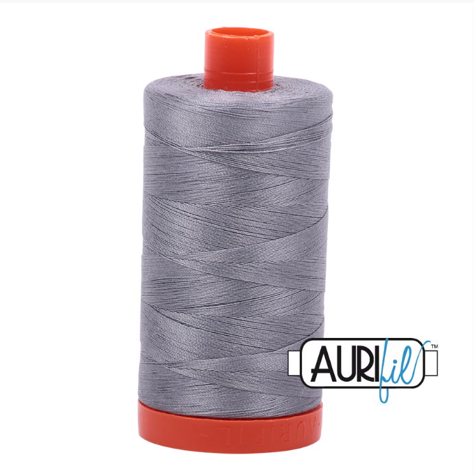 Aurifil #2605 (Grey)<br>50 Wt. - 1422 Yds.