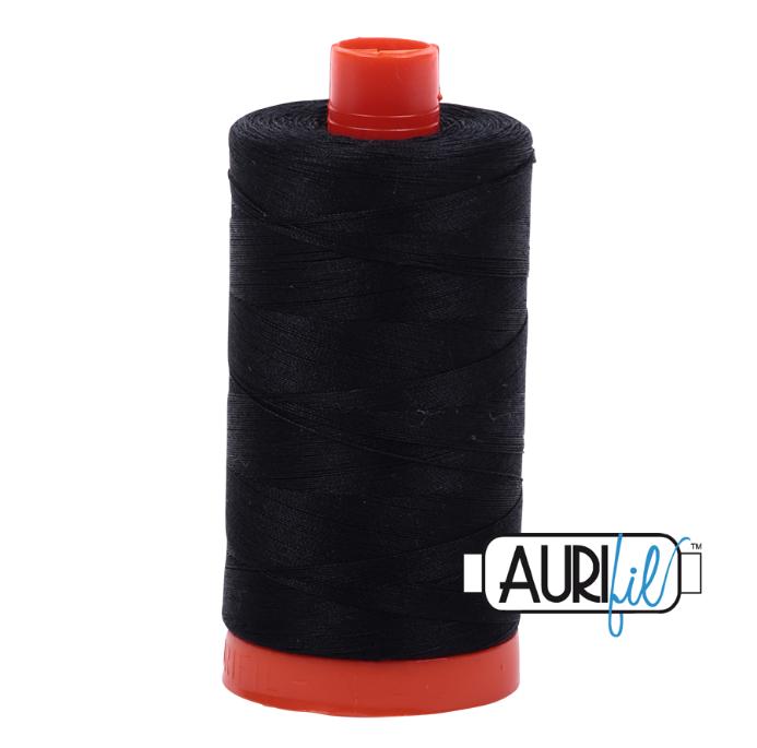Aurifil #2692 (Black)<br>50 Wt. - 1422 Yds.
