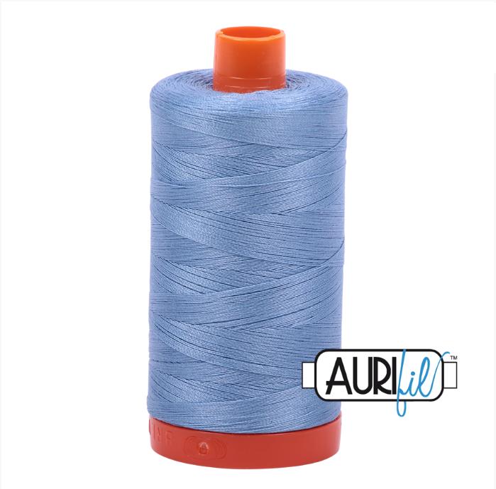 Aurifil #2720 (Light Delft Blue)<br>50 Wt. - 1422 Yds.