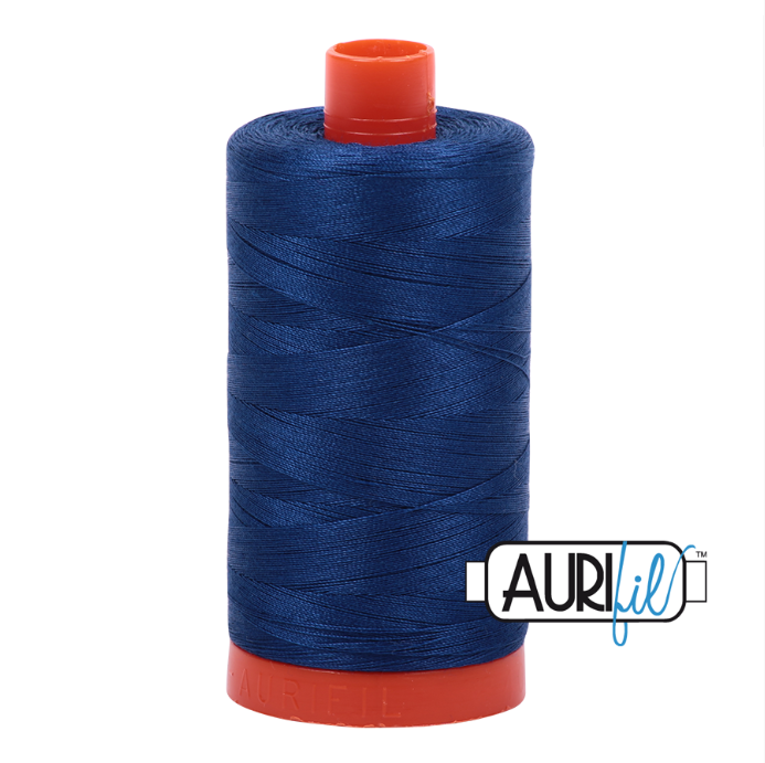 Aurifil #2780 (Dark Delft Blue)<br>50 Wt. - 1422 Yds.