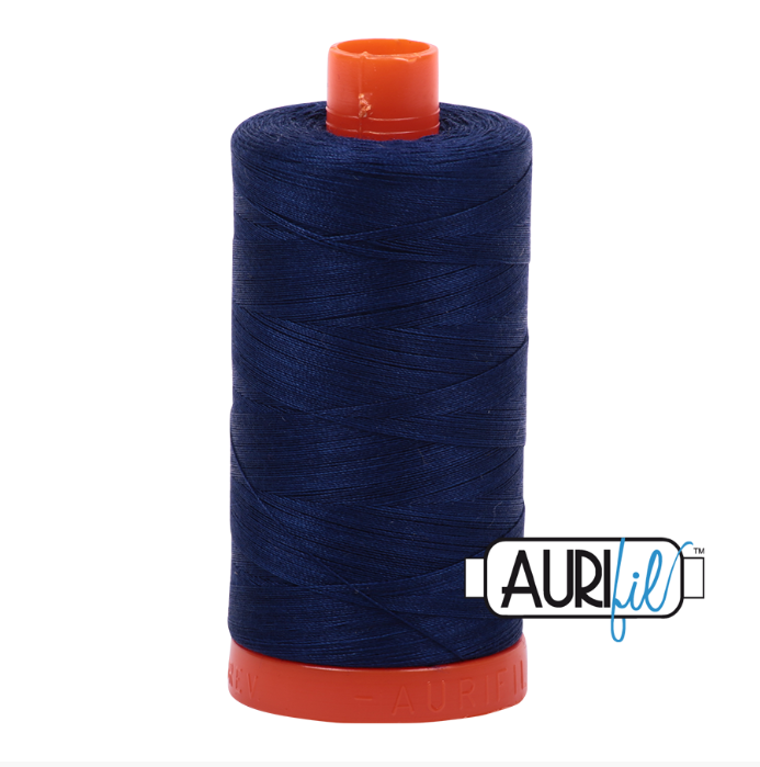 Aurifil #2784 (Dark Navy)<br>50 Wt. - 1422 Yds.