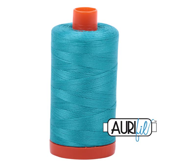 Aurifil #2810 (Turquoise)<br>50 Wt. - 1422 Yds.
