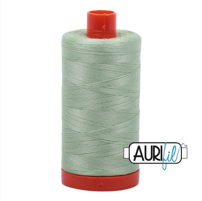 Aurifil #2880 (Pale Green)<br>50 Wt. - 1422 Yds.