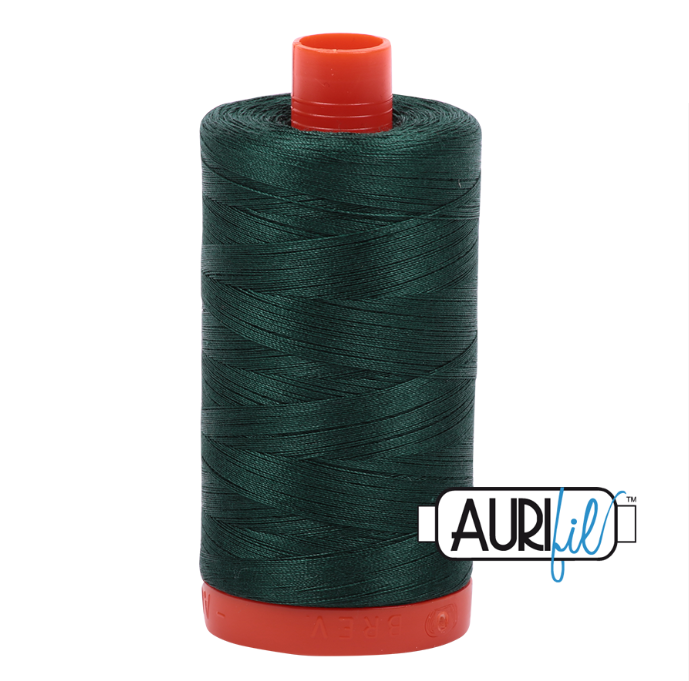 Aurifil #2885 (Medium Spruce)<br>50 Wt. - 1422 Yds.